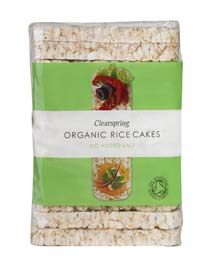 Clearspring Organic Plain Rice Cakes 100g