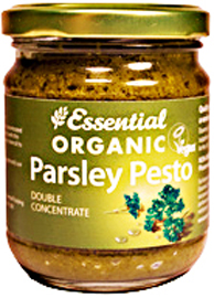 Essential Organic,Vegan Parsley Pesto + Extra Virgin Olive Oil 1