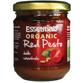 Essential Organic,Vegan Red Pesto with Extra Virgin Olive Oil 18