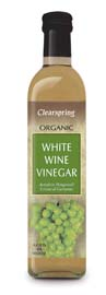 Clearspring Organic White Wine Vinegar 500ml
