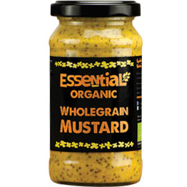 Essential Organic Wholegrain Mustard 200g