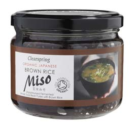 Clearspring Organic Brown Rice Miso in a Jar 300g
