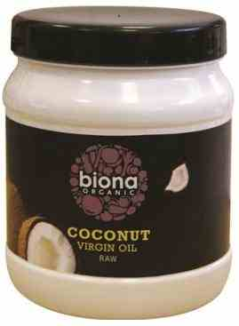Biona Organic Raw Coconut Oil 400g