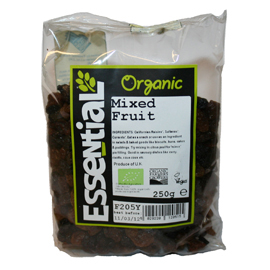 Essential Organic Mixed Fruit 250g