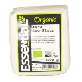 Essential Organic  Brown Rice Flour 500g