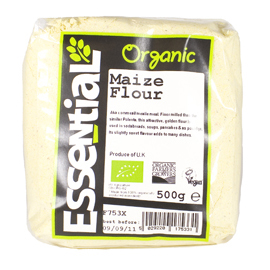 Essential Organic  Maize Flour 500g