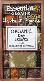 Essential Organic  Whole Bay Leaves 10g
