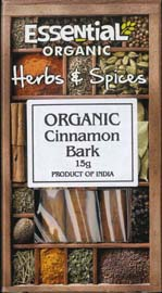 Essential Organic Cinnamon Bark 15g