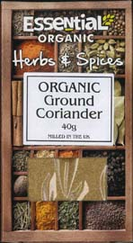 Essential Organic Ground Coriander 40g