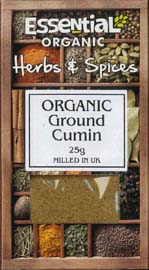 Essential Organic Ground Cumin 25g