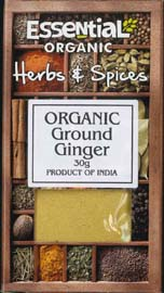 Essential Organic Ground Ginger 30g