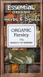 Essential Organic Parsley 15g