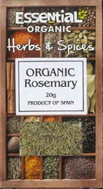 Essential Organic Rosemary 20g