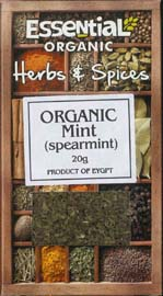 Essential Organic Spearmint 20g