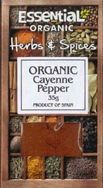Essential Organic  Cayenne Pepper 35g
