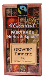 Essential Fair Trade Organic Ground Turmeric 25g