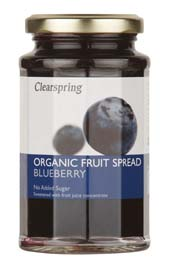 Clearspring Organic Blueberry Fruit Spread 290g