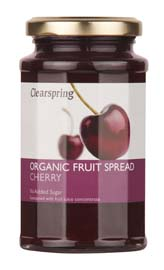 Clearspring Organic Cherry Fruit Spread 290g