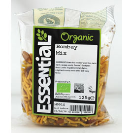 Essential Organic Bombay Mix 125g