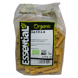 Essential Organic Gathia125g