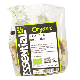 Essential Organic Fruit & Nut Mix 125g