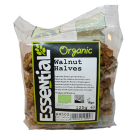 Essential Organic Walnut Halves 125g