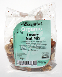Essential Organic Nut Mix 125g