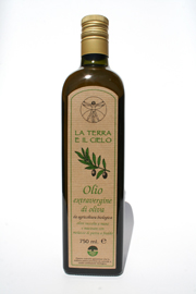 La Terra Organic  Extra Virgin Olive Oil 750ml
