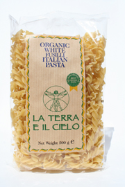 Authentic Italian Organic White Fusilli