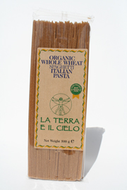 Authentic Italian  Organic Wholewheat Spaghetti