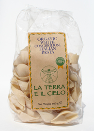 Authentic Italian  Organic White Conchiglioni 500g