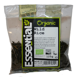 Essential Organic Wild Rice 125g