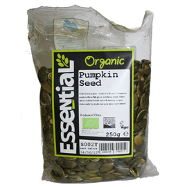 Essential Organic Pumpkin Seeds 250g