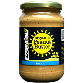Essential Organic Smooth Peanut Butter  - With Added Salt