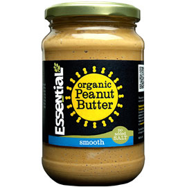 Essential Organic Smooth Peanut Butter- No Added Salt
