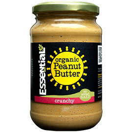 Essential Organic Crunchy Peanut Butter- No added Salt 350g