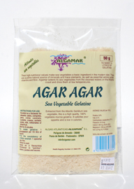 Algamar Atlantic Agar Agar Flakes. 50g.
