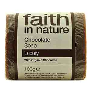 Faith in Nature Luxury Organic  Chocolate Soap 100g