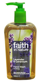 Faith in Nature Lavender & Geranium Handwash 300ml