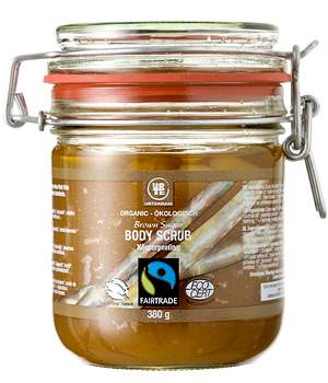 Fairtrade Organic Brown Sugar Body Scrub 380ml