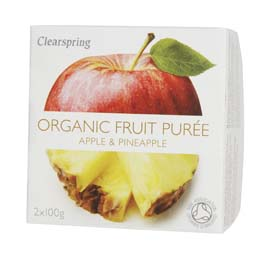 Organic  Apple & Pineapple Puree 200g
