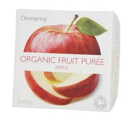 Organic Apple Puree 200g