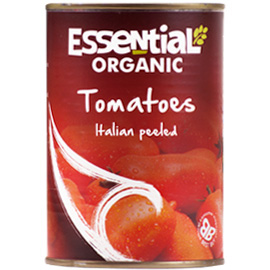 Essential Organic Whole Tinned Tomatoes 400g