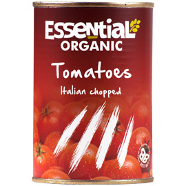 Essential Organic  Chopped Tinned Tomatoes 400g