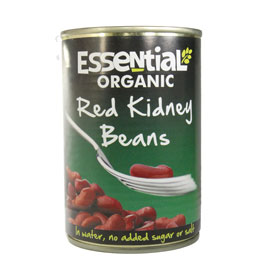 Essential Organic Red Kidney Beans 400g