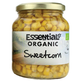 Essential Organic Sweetcorn 330g