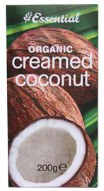Essential Organic  Creamed Coconut 200g